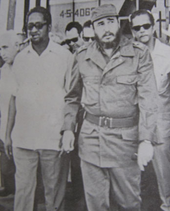 Burnham and castro when burnham visited cuba in the seventies for Meaning of farcical in hindi